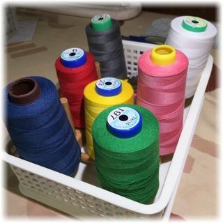 縫い途中糸の一時置き用
