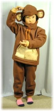 【申年】にはまんま・・サルの着ぐるみ風
