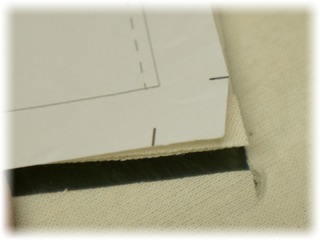 縫う順番を変更、部分的に縫い代補正