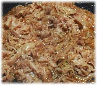 豚バラともやしのスタミナ焼き