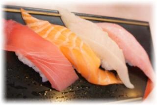 回転寿司でも美味しいんだよねェ❤
