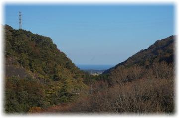 【花貫ダム】は海が見えるダムなんです