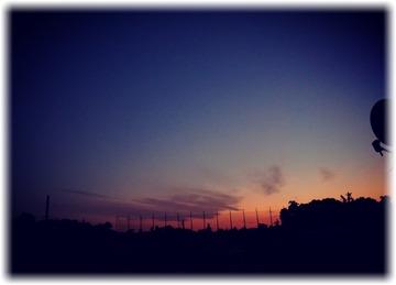 久し振りにキレイな夕空見た❤