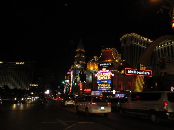 ラスベガス夜
