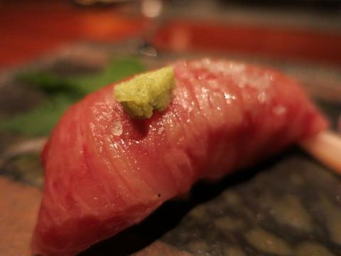 東京,肉寿司,牛肉,馬肉,画像