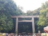 熱田神宮。