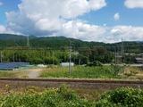 入道雲、今年初めて見た気がする…。