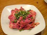ラム肉刺身