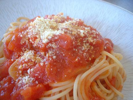 スパゲティーニ/サルサ・ポモドーロ