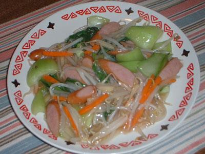 広東風野菜炒め