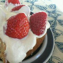 いちごのショートケーキ