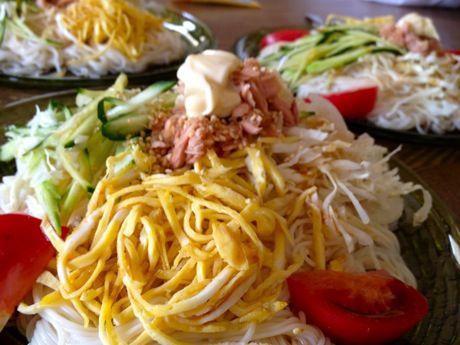 ぶっかけ素麺