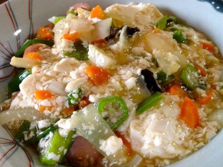 野菜と豆腐の炒め