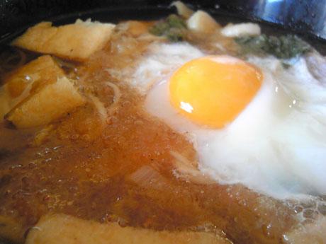 霙月見狐青菜蕎麦