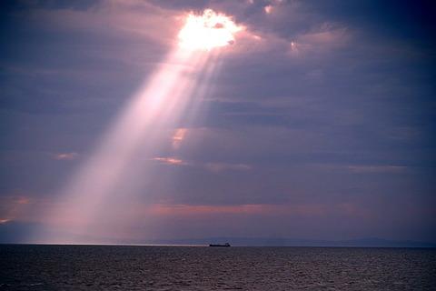 ④播磨灘のスポットライト現象