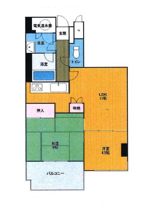 ルモン紫野 4階