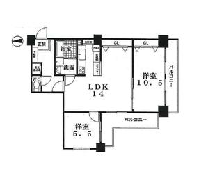 今出川ビューハイツ 4階