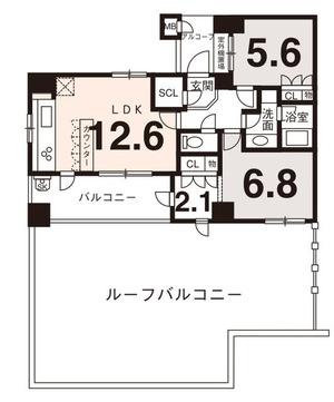 ファインフラッツ三条通8階