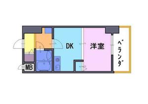 エスリード京都駅前 4階