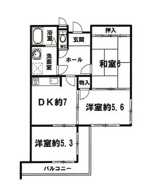 シティコアサーティ朱雀 2階