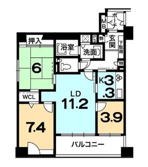 グラシオーズ芦刈山 7階