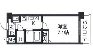 プレサンス京都神宮道3階間取り