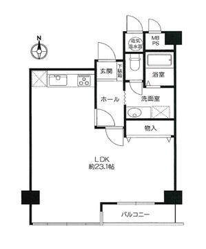 ロイヤルプラザ御池 4階