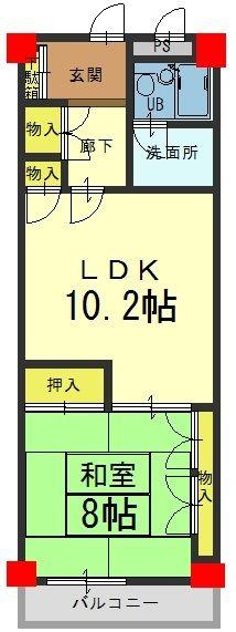 ライオンズマンション高台寺 2階