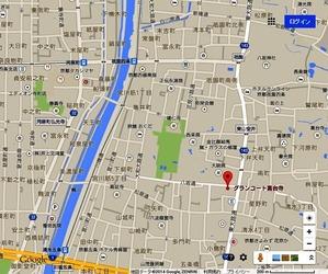東山区小松町11−21 グランコート高台寺4階地図