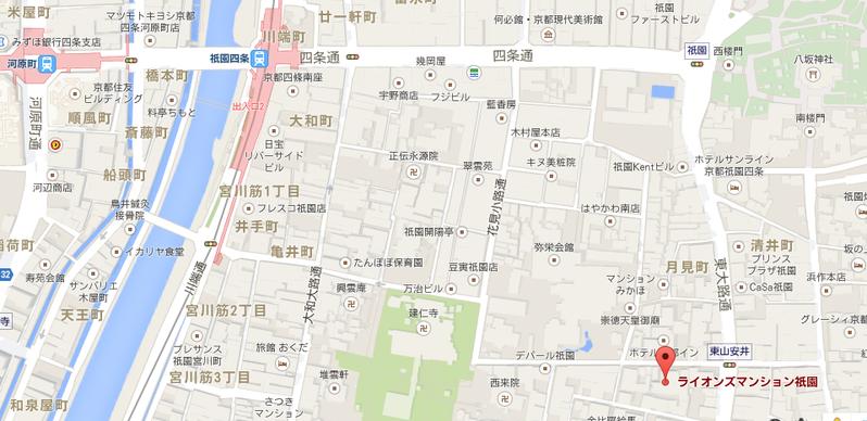 LM祇園地図