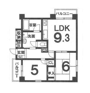 御池パークマンション 2階