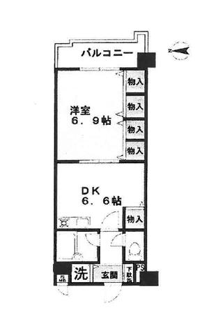 ライオンズマンション高野東 2階