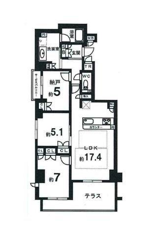 プレミスト京都御所東 1階