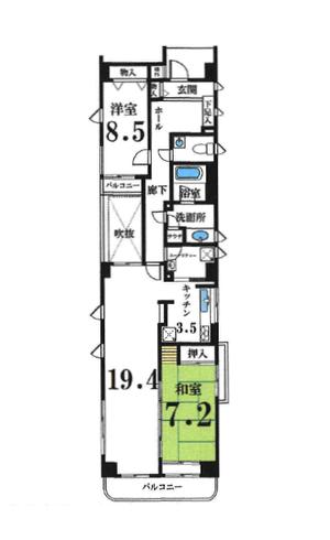 ライオンズマンション祗園小松町 3階