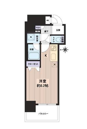 アドバンス京都四条堀川ノーブル 2階