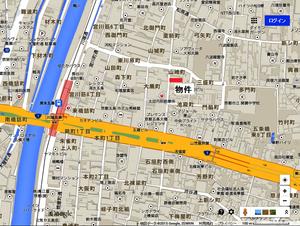キンブリッジ京都清水地図