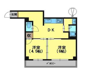 パレステート日生熊野 3階
