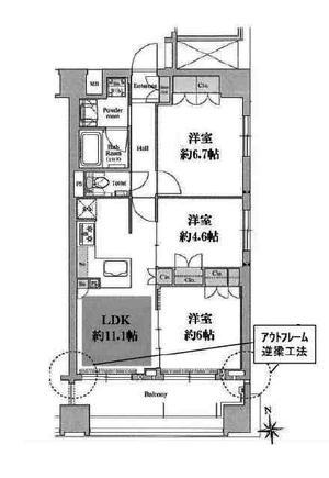リソシエ京都河原町エクス11階