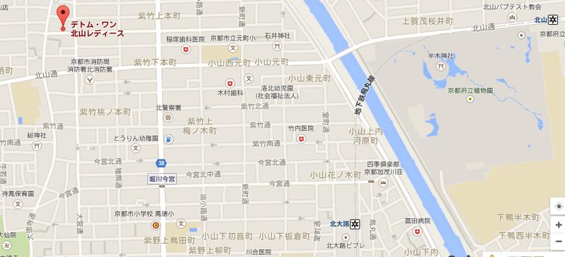 デトム北山L地図