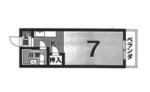 ペントハウス 3階