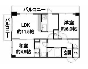 デ・リード京都北山通4階間取り