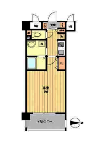 エイペックス京都御所西  3階