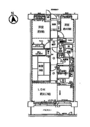松ヶ崎パークホームズ 6階