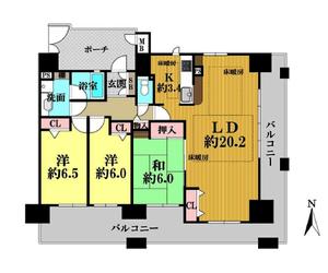 パデシオン京都駅前 3階