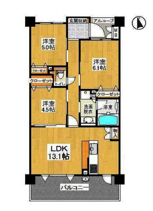 グラン・コート西京極�7階