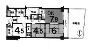 サンマンション西京極1階