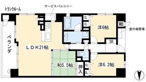 リソシエ今出川聚楽邸7階1