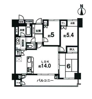 メイツ四条烏丸 9階