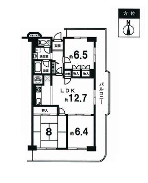 壬生グランドハイツ 5階