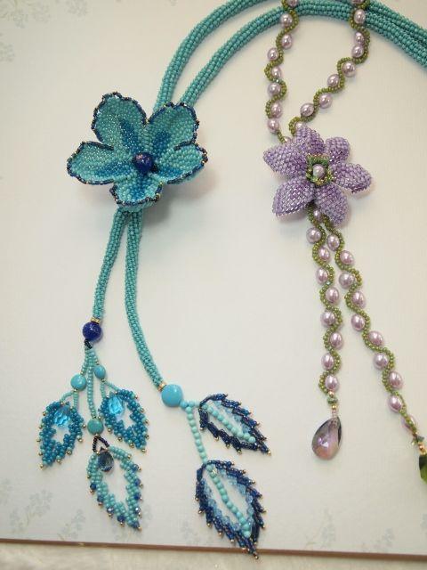 ブルーと紫の花 (960x1280) (480x640)